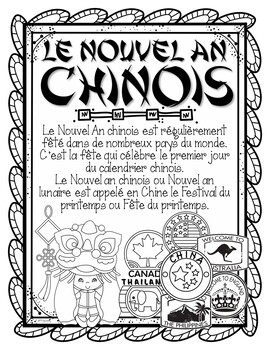 Chinese New Year • French • LE NOUVEL AN CHINOIS
