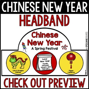 Chinese New Year Headband