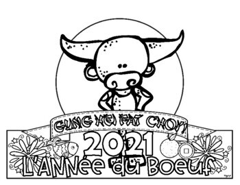 FRENCH Chinese New Year Headband Toppers