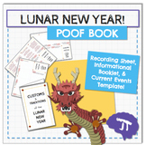 Chinese New Year Poof Book Activity