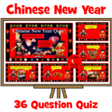 Chinese New Year - Interactive PowerPoint Quiz