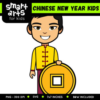 Chinese New Year Kids Clip Art