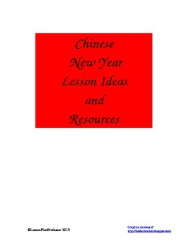 Chinese New Year Lesson Ideas and Resources