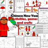 Chinese New Year- Literacy printables and craftivities- Updated for 2019