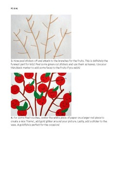 Chinese New Year Lucky Tree Craft Plan