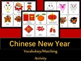 Chinese New Year Matching/ Vocabulary Activity