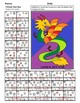 Chinese New Year Color by Number Math: Count the Coins with Touch Money
