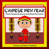 Chinese New Year Literacy and Math Activities (3rd Grade Common Core)