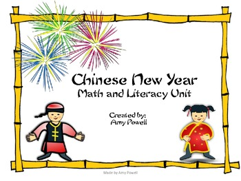 Chinese New Year Math and Literacy Unit