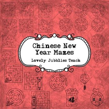 Chinese New Year Mazes