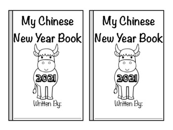 Chinese New Year Mini Book-Spanish & English