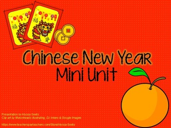 Chinese New Year Mini-Unit