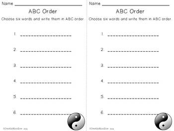 Chinese New Year Mini-Word Wall Activity Pack