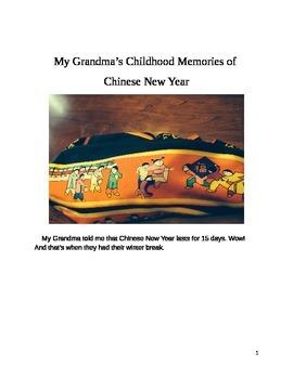 Chinese New Year My Grandmas Memories