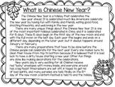 Chinese New Year Nonfiction Passage