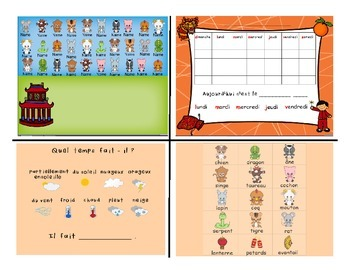 Chinese New Year / Nouveau An Chinois FRENCH SmartNotebook Activities