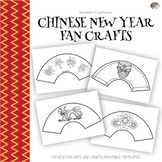 Chinese New Year Paper Fan Craft