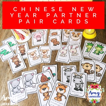 Chinese New Year Partner Pair Cards