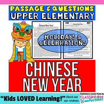 Chinese New Year: Passage and Questions: Reading Comprehension