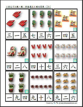 Chinese New Year Pre-K/K Pack (Traditional Chinese)