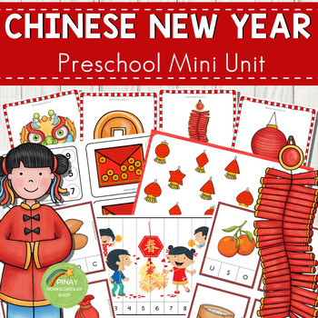 Chinese New Year Preschool Mini Unit Activities by Pinay ...