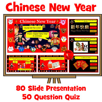 Chinese New Year - Presentation and Quiz