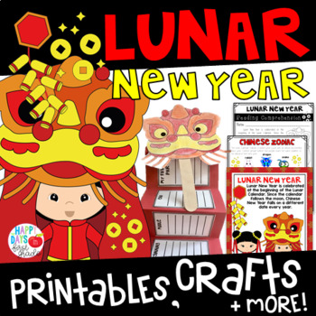 Chinese New Year Printables, Games, and More!