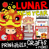 Chinese New Year 2018 K-2 Craftivities, Printables, Games, and More!