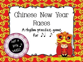 Chinese New Year Races--a rhythm game to practice syncopa
