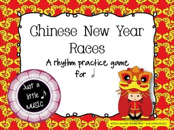 Chinese New Year Races--a rhythm game to practice ta ah