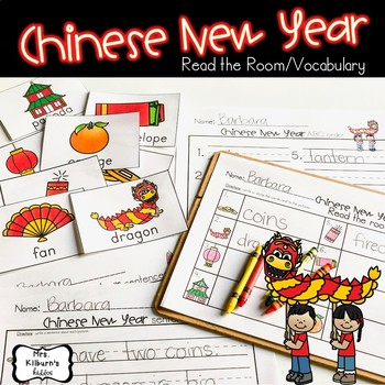 Chinese New Year {Read the Room/Vocabulary}