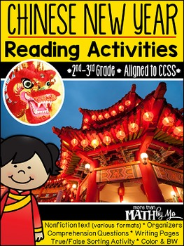 Chinese New Year Reading Activities {Non-Fiction Unit}