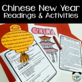 Chinese New Year Reading Comprehension, Coloring, and Activity Pages