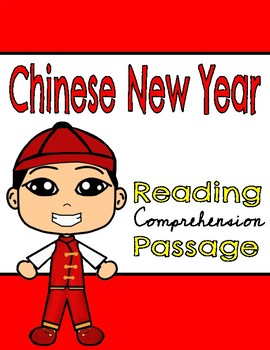 Chinese New Year Reading Comprehension Passage & Questions