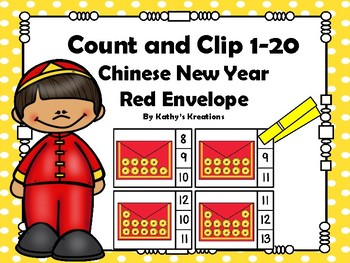 Chinese New Year Red Envelope Count And Clip