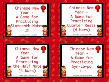 Chinese New Year Rhythms - Bundled Set