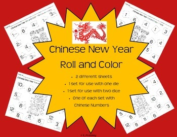 Chinese New Year Roll and Color