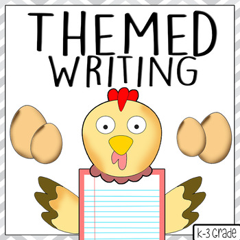 Rooster Themed Writing