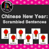 Chinese New Year Scrambled Sentences PLUS Recording Page