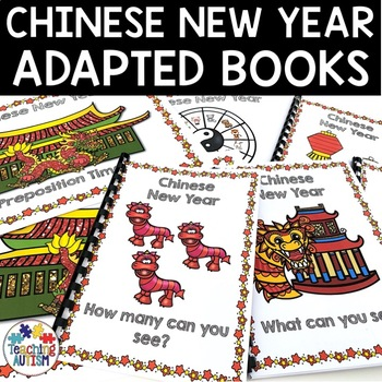 Chinese New Year Sentence Building Pack Adapted Books
