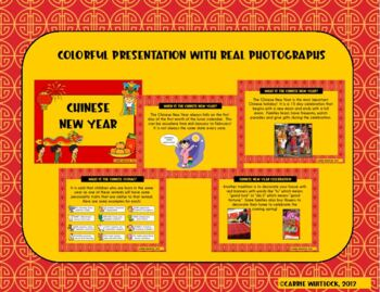 Chinese New Year Set - Presentation and Activities