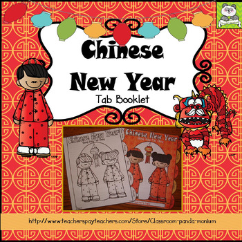 Chinese New Year Tab Booklet