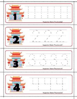 Chinese New Year Theme: Math Centers