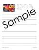 Chinese New Year Unit - Copywork - Print and Cursive - Handwriting
