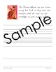 Chinese New Year Unit - Copywork - Print and Cursive - Han