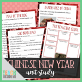 Chinese New Year Unit Study