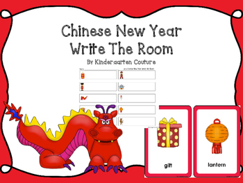 Chinese New Year Write The Room