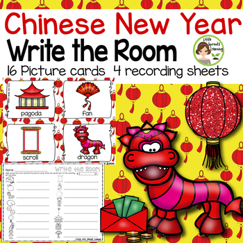 Chinese New Year Write the Room (in color and black/white)