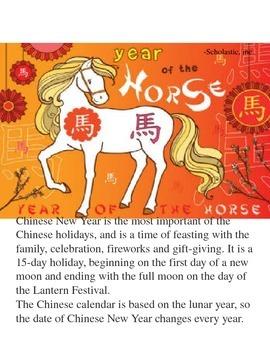 Chinese New Year - Year of the horse (Kai-lan)
