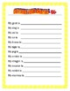 Chinese New Year Zodiac Animals- BINGO- The Year of the Dog -Writing Prompt